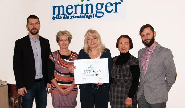 Meringer - akcja charytatywna
