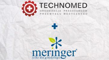 Meringer członkiem organizacji Technomed
