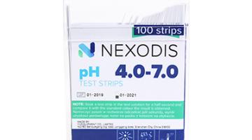 Paski wskaźnikowe pH NEXODIS