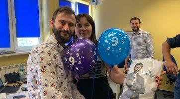 9 lat pracy Piotra w Meringer