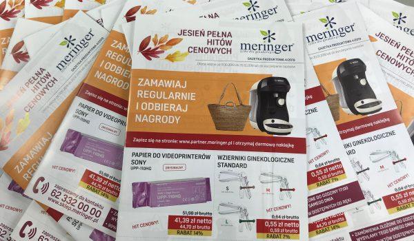 GAZETKA PRODUKTOWA MERINGER - 4 - JESIEŃ 2019